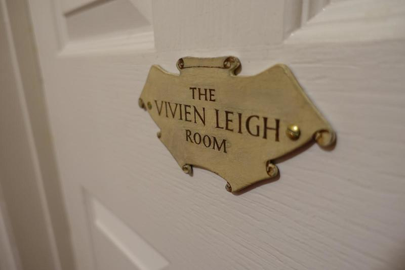 The 'Vivien Leigh Room' plaque