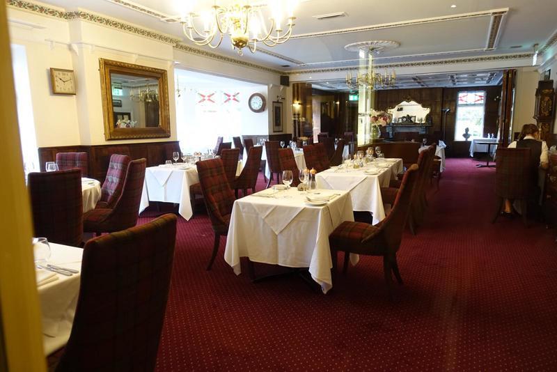 Two Bridges Hotel dining room