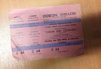Caesar and Cleopatra ticket